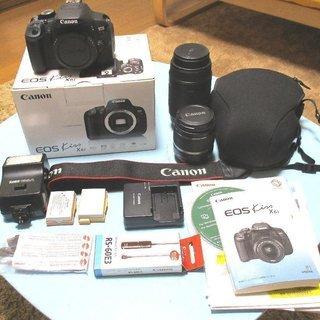 《決まりました》Canon EOS Kiss X6i  美品 付...