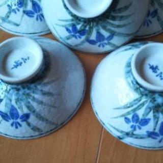 茶碗菖蒲5客から14客まで