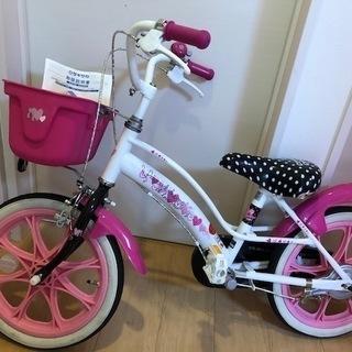 女の子向け自転車 16型