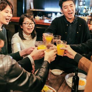 使いやすさ抜群♪大阪駅のオシャレなカフェバーで貸切パーティ!の画像