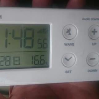 小型 電波時計