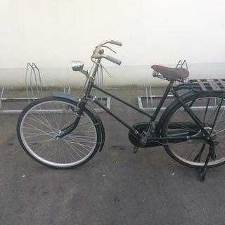 オマケ?付き レトロ自転車