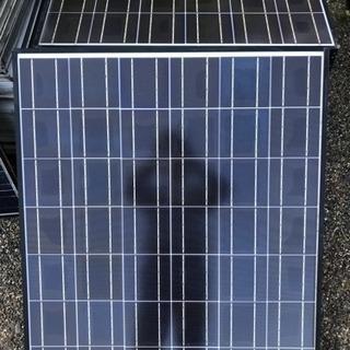 ソーラーパネル、太陽光電池モジュール、日本製 153w 残り4枚...