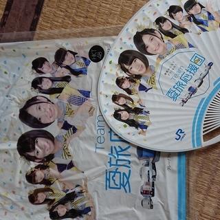 HKT48 TEAM夏旅応援団 袋とうちわ