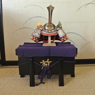 【格安】豆兜 コンパクト ミニ 兜飾り  暁山作 趣味 日本 お...