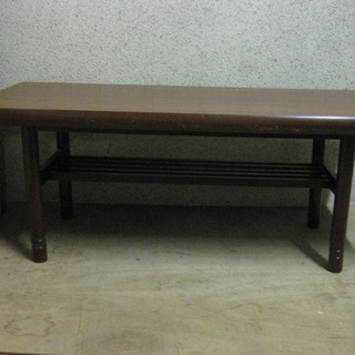 木製 座卓 ローテーブル ちゃぶ台 幅120cm×奥行52cm×高...