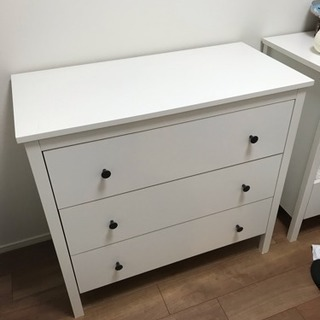 【値下げしました】IKEAのチェスト (タンス) 【引き取りのみ】