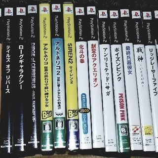 PS2 ソフト23本 ジャンク