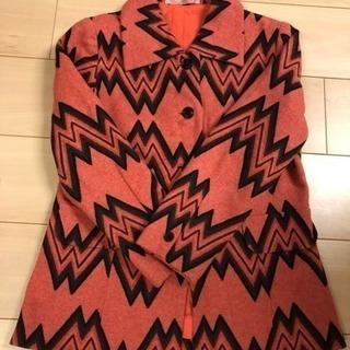 THE 昭和 レトロ ジャケット 手縫い ウール っぽい素材