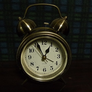 ATELIER 目覚まし時計 大音量ベル