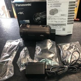 【美品】パナソニック ビデオカメラ HC-WX995M ブラウン