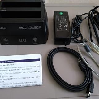 HDDクローンスタンド NV-HSC352US NOVAC 完品