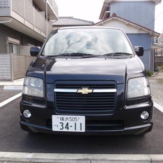 【諸費用込】★シボレーMW 人気の黒色!★走行距離68000キロ...