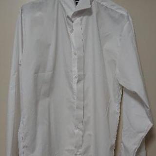 984a568da7040 ... 結婚式 タキシード用シャツ(ウィングカラーシャツ) サイズL(プロ.