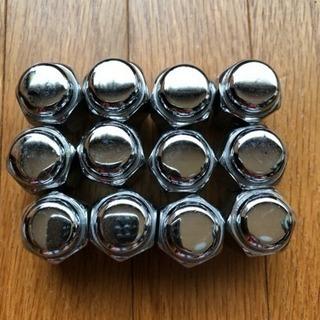 袋ホイールナット 12個  メッキ  M12×1.5