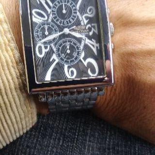 CharIes.VogeIeクロノグラフ腕時計