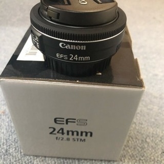 CanonのEFS-24mm F2.8(パンケーキレンズ)