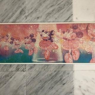 ミニー額入りジグソーパズル 102cm×35cm