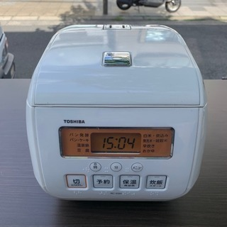 #2232 東芝 炊飯器 3合炊き TOSHIBA RC-5SH-W