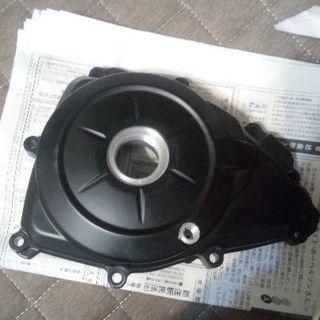 YZF-R25 R3 左 ジェネレーター カバー 傷修正