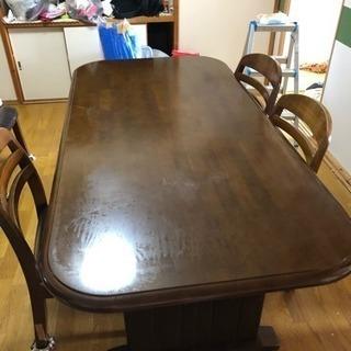 テーブル椅子セット