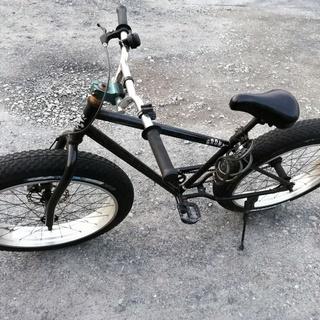 BRONX 26インチ ファットバイク 中古の画像