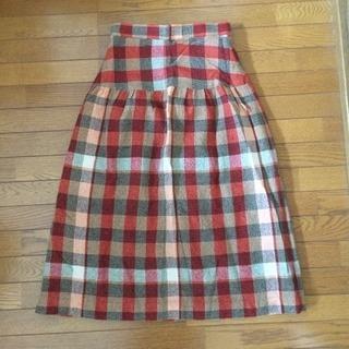 ※1000円セール中❗️【暖か裏地付きスカート】