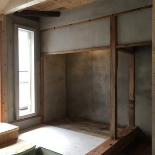 土壁再生ワークショップ 版築壁と版築一輪挿しを作る