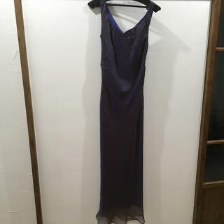 サテン オーガンジー ドレス 演奏会