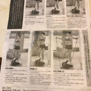 足踏み健康器具ツイスト&シェイプ - スポーツ