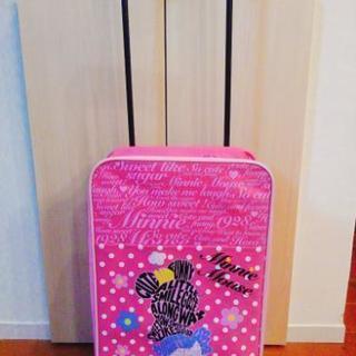 ミニーちゃんのキャリーバッグ