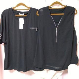 (お引渡し完了)レディース Tシャツ2枚セット