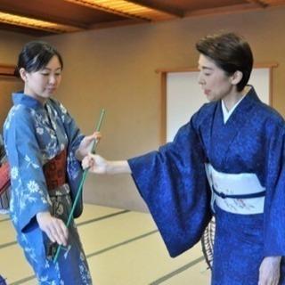 元タカラジェンヌの日本舞踊教室