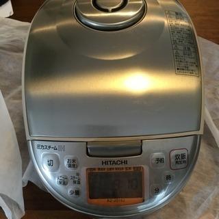 【値下げ】日立圧力IH炊飯器(5.5合) - 米子市