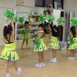 チアダンス 幼稚園クラスに月2回コース誕生!