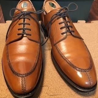 ライトブラウン ユーチップ ユニオンインペリアル 日本製本格革靴
