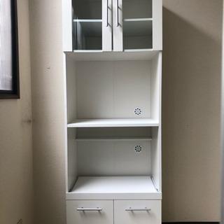 【取引終了】ニトリ レンジ台 食器棚