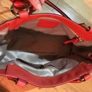 ★連休特価★ Coach コーチ 橙色 トートバッグ 未使用品