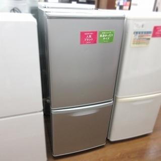 Panasonic ノンフロン冷凍冷蔵庫 NR-B143W-S ...