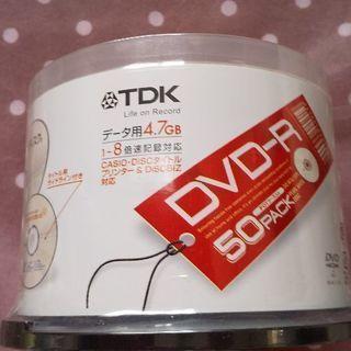 【値下げ】TDK  未開封 DVD-Rデータ用 1-8倍速記録対...