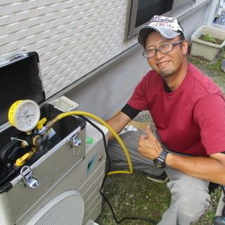 鹿児島市と福岡市北九州市でエアコン工事 エアコン取り付けやってます。