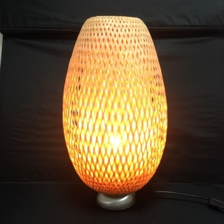 網揚げ カゴシェード付き 間接照明 IKEA 癒しの灯り やすらぎ