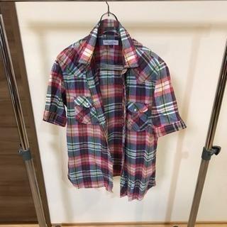 ナノユニバース メンズシャツ Sサイズ