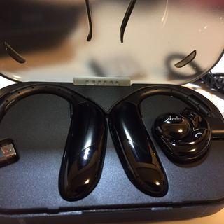 Bluetoothイヤホン耳掛け式