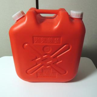 灯油用ポリタンク18リットル 未使用