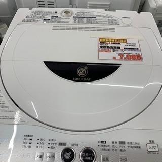SHARP シャープ 全自動洗濯機 4.5kg 2012年…