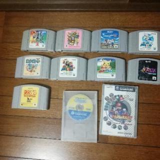 任天堂64 ゲームソフト + GC ソフト