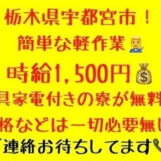 【急募案件】栃木県宇都宮!!月収見込み30万!
