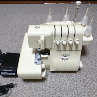 ロックミシン ベビーロック 衣縫人 糸付き