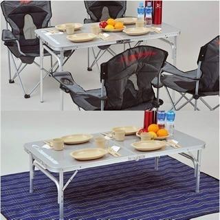 キャンプ用折り畳みテーブル差し上げます